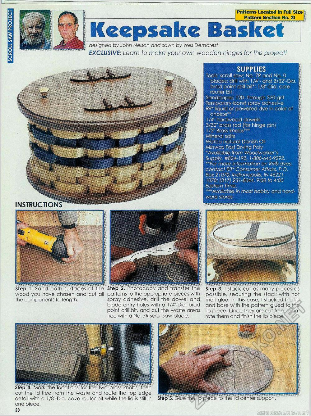 Creative Woodworks & crafts 2003-09, страница 28