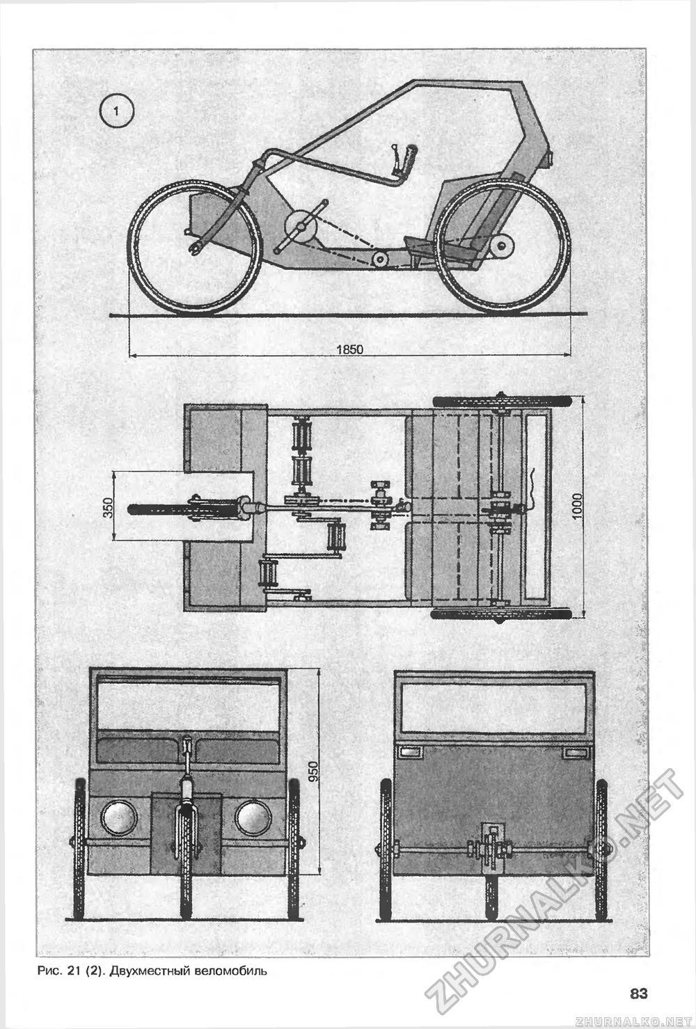 Велоквадроцикл своими руками чертежи 91
