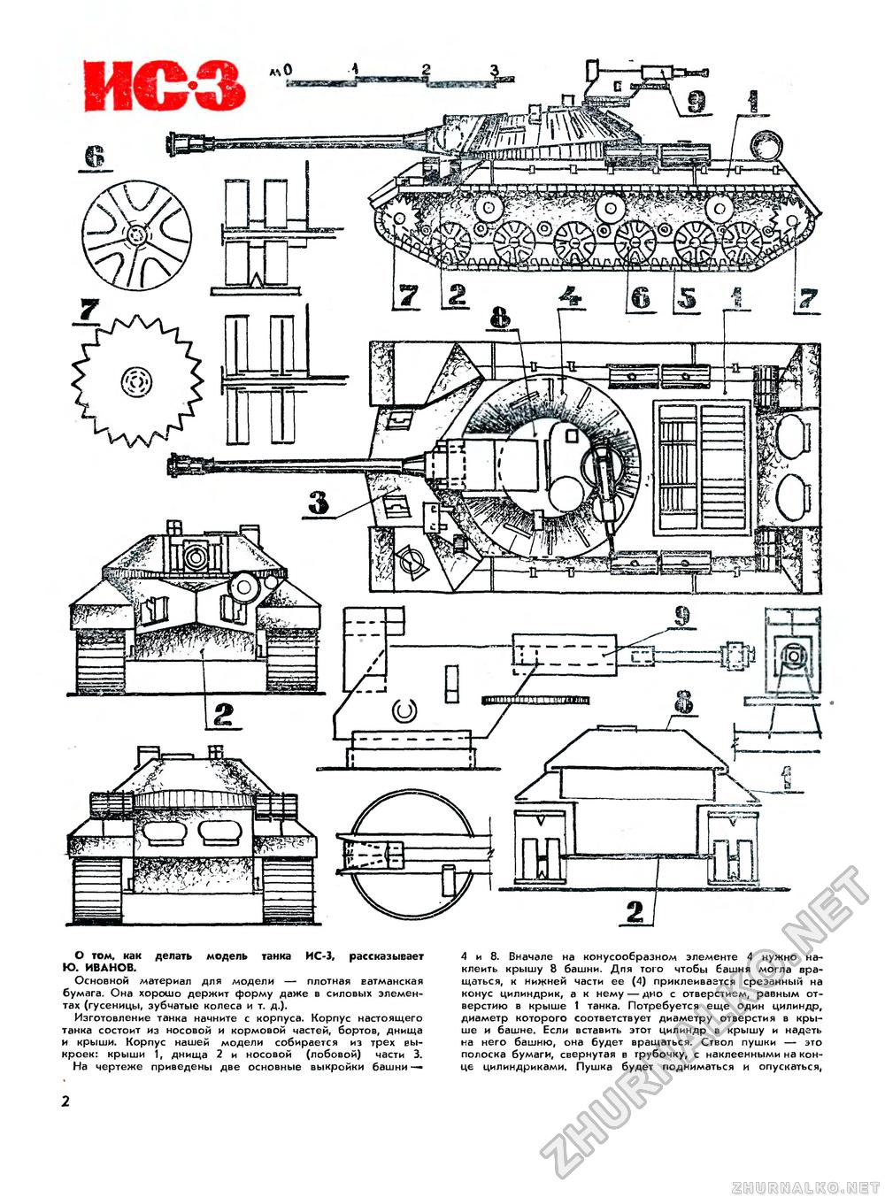 Чертежи моделей танков своими руками