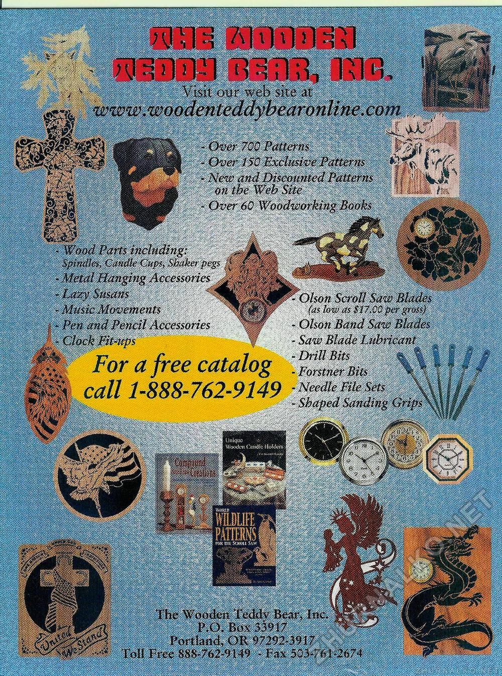 Creative Woodworks & crafts 2003-03, страница 7