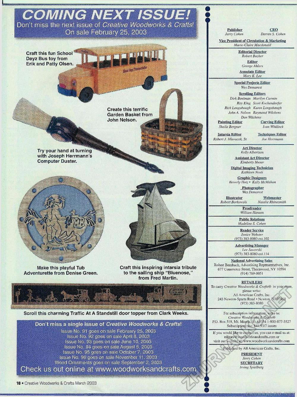 Creative Woodworks & crafts 2003-03, страница 10