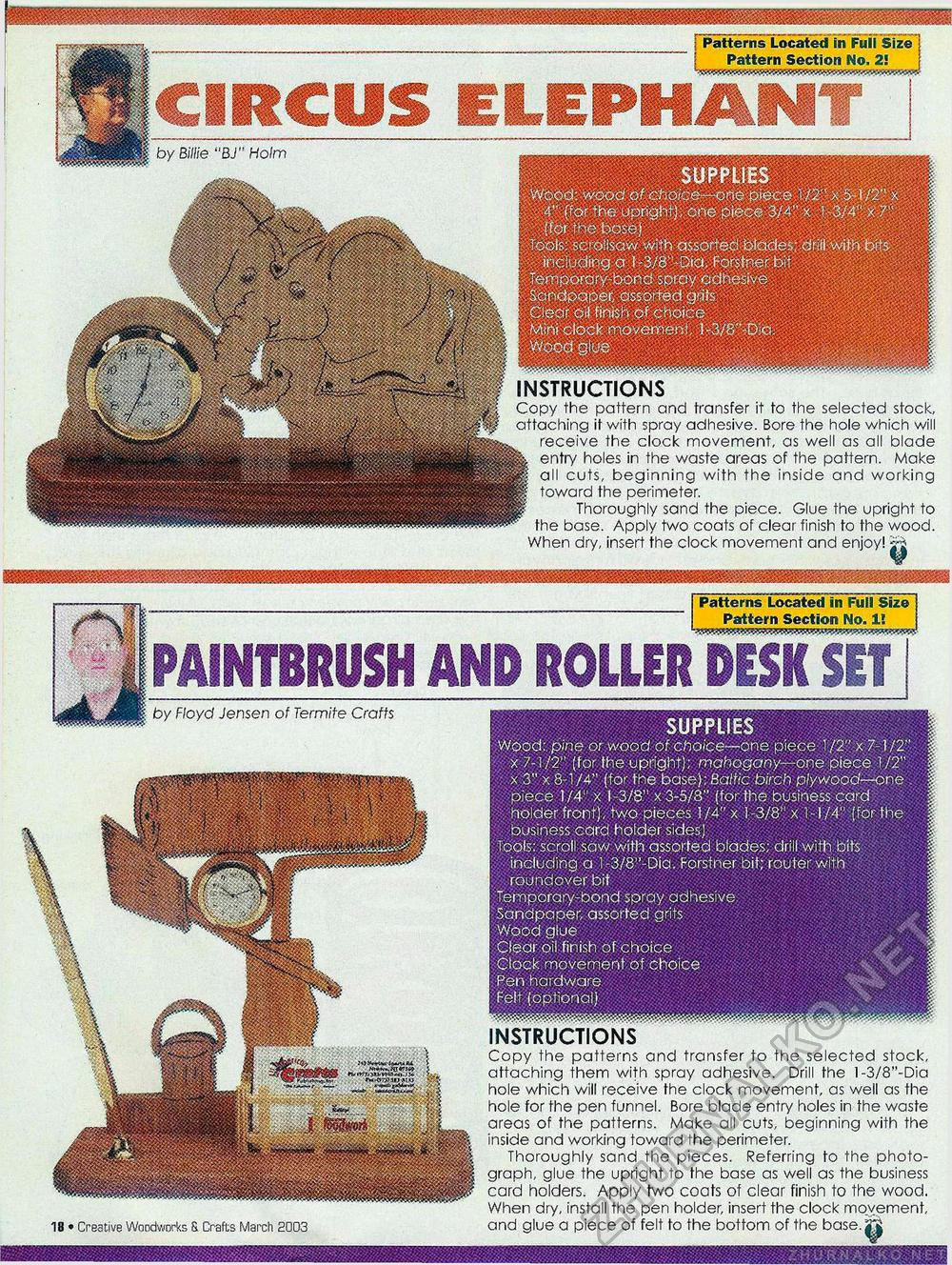 Creative Woodworks & crafts 2003-03, страница 18