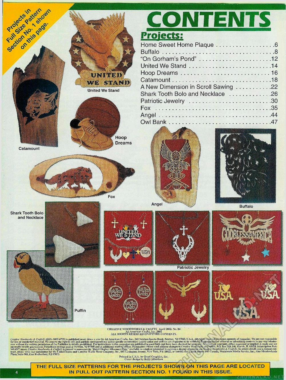 Creative Woodworks & crafts 2002-04, страница 4