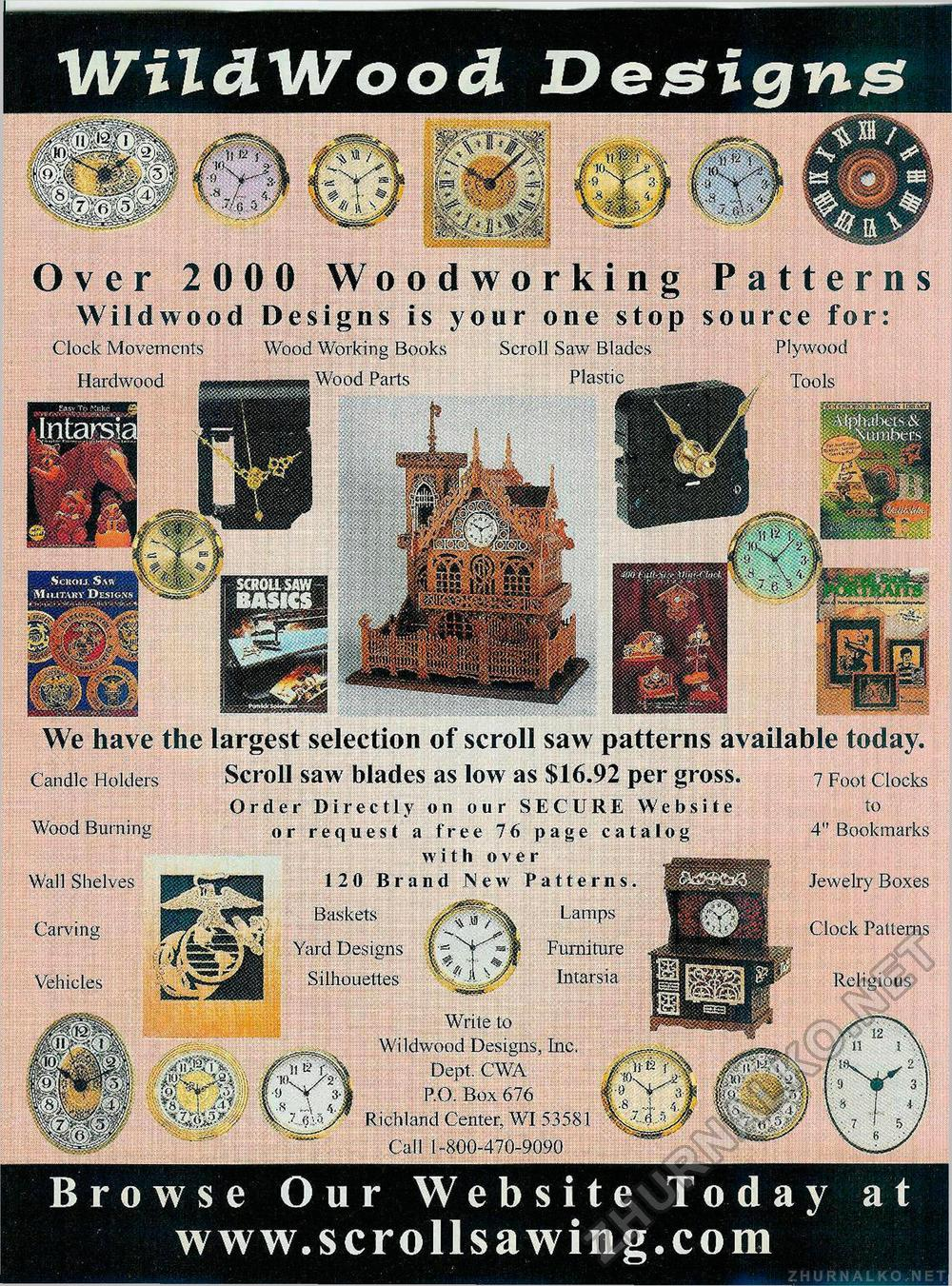 Creative Woodworks & crafts 2002-04, страница 21
