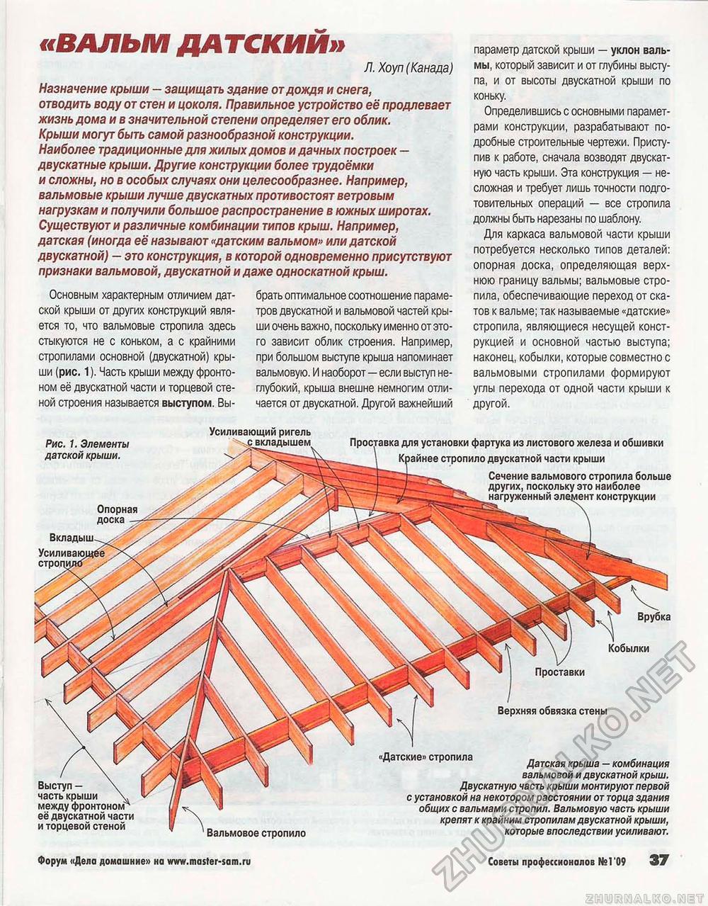Вальмовые крыши монтаж своими руками 391