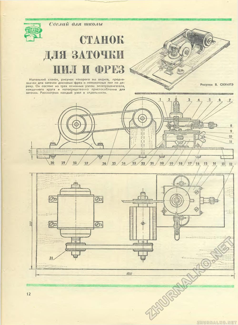 Ленточная пила своими руками : чертежи и советы по изготовлению 64