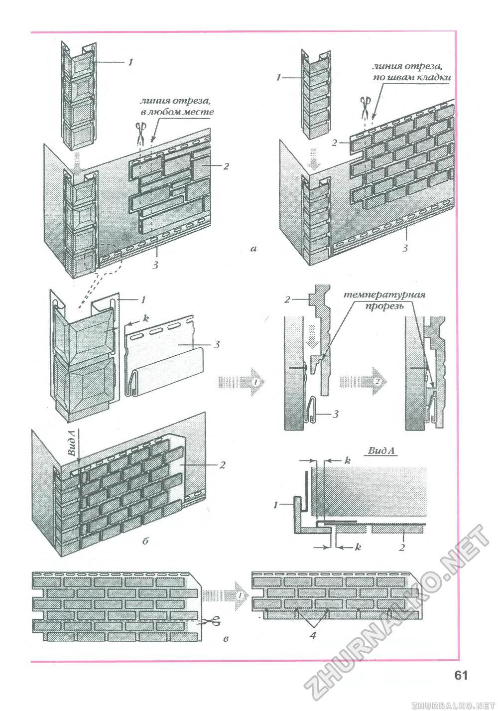 Монтаж фасадных панелей деке своими руками