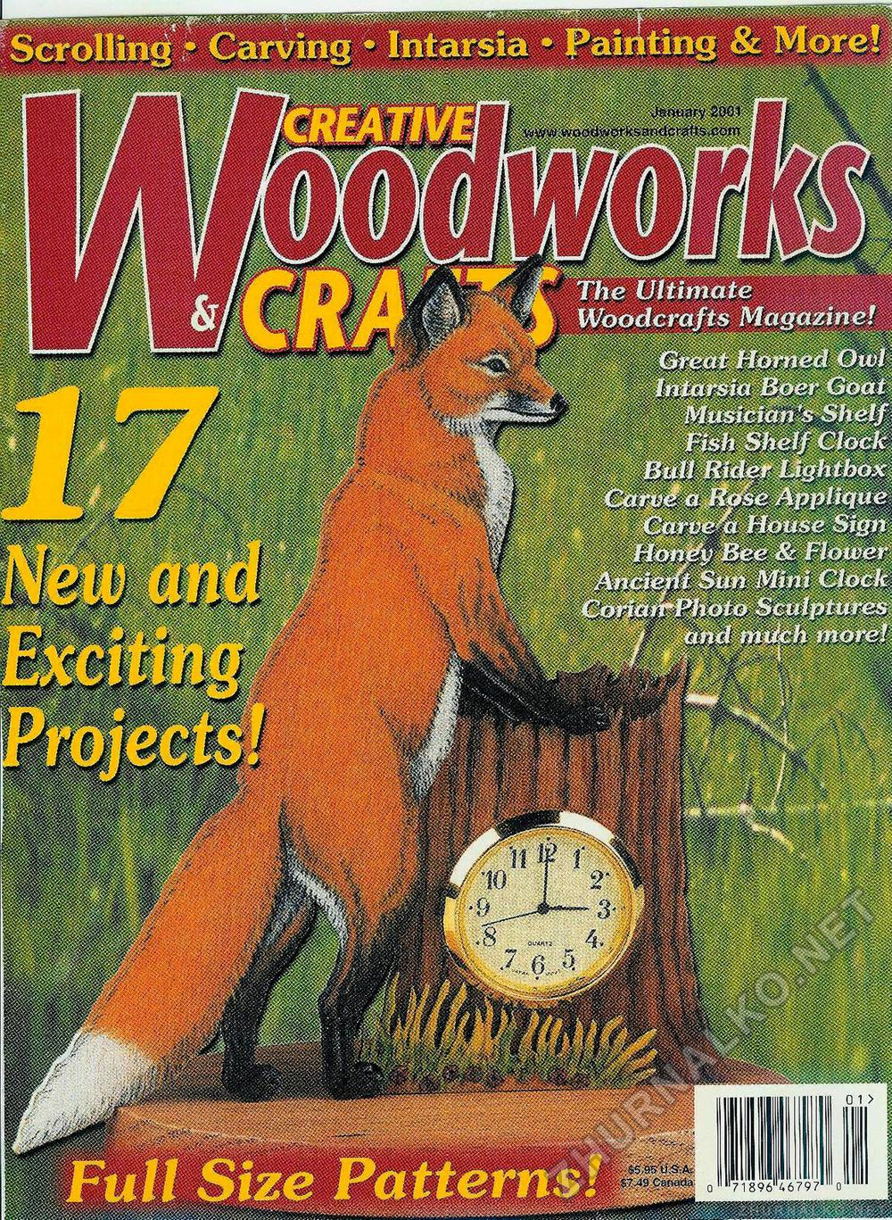 Creative Woodworks & crafts 2001-01, страница 1