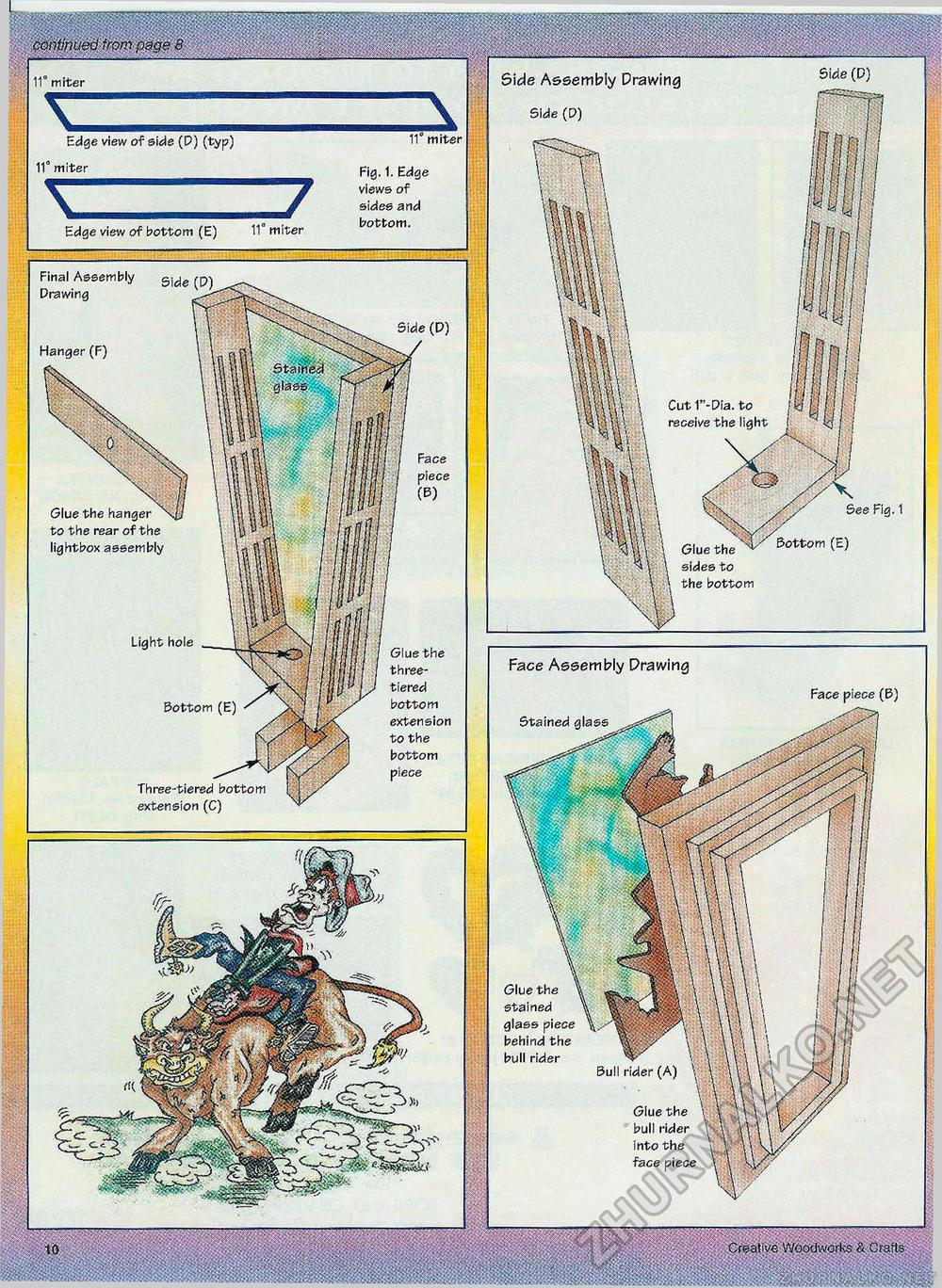 Creative Woodworks & crafts 2001-01, страница 10