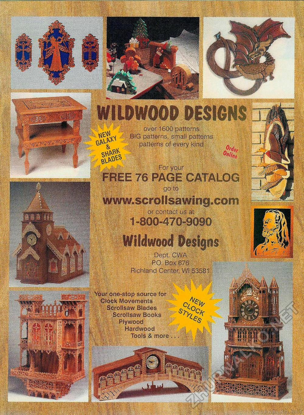 Creative Woodworks & crafts 2001-01, страница 21