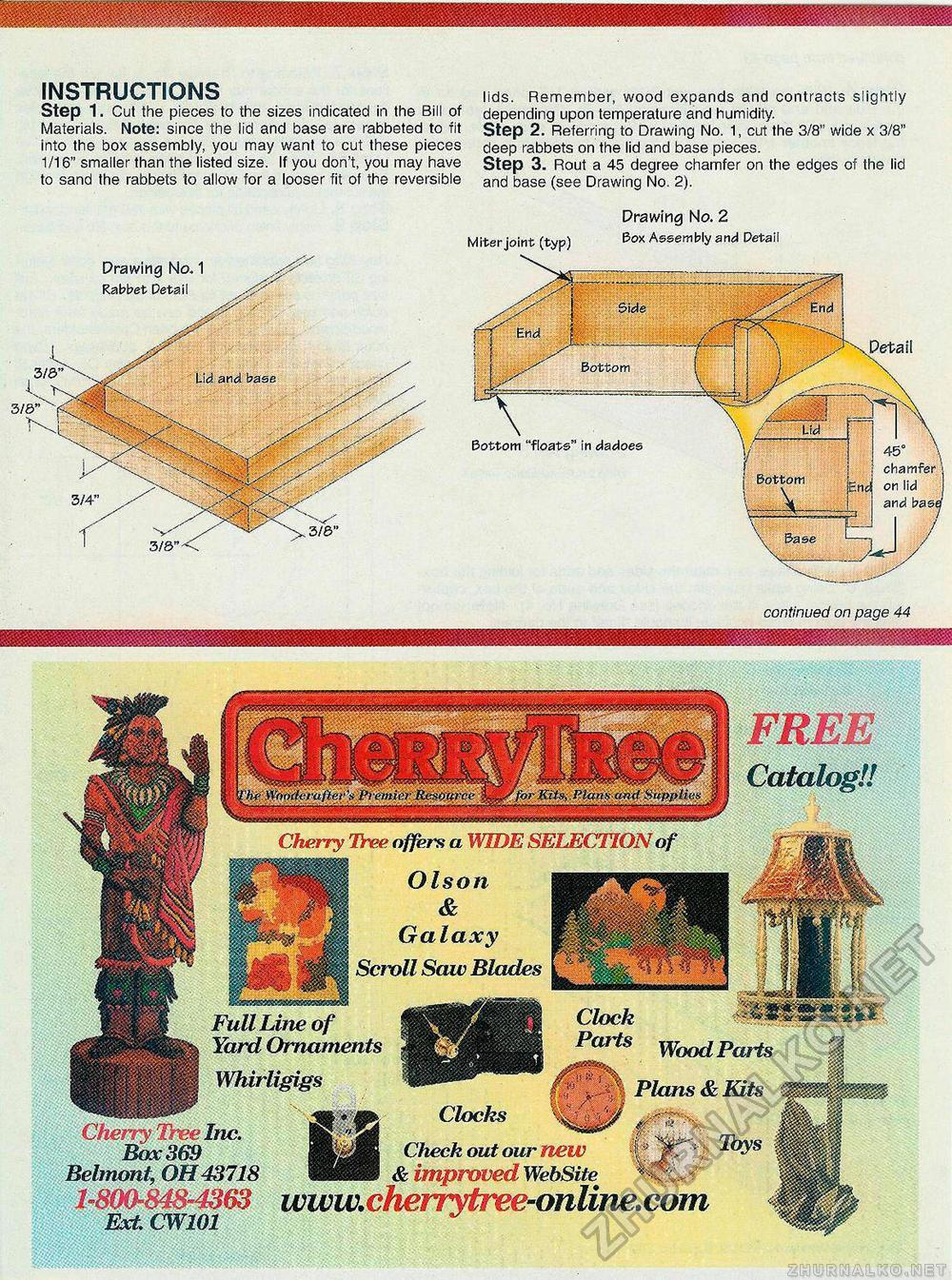 Creative Woodworks & crafts 2001-11, страница 43