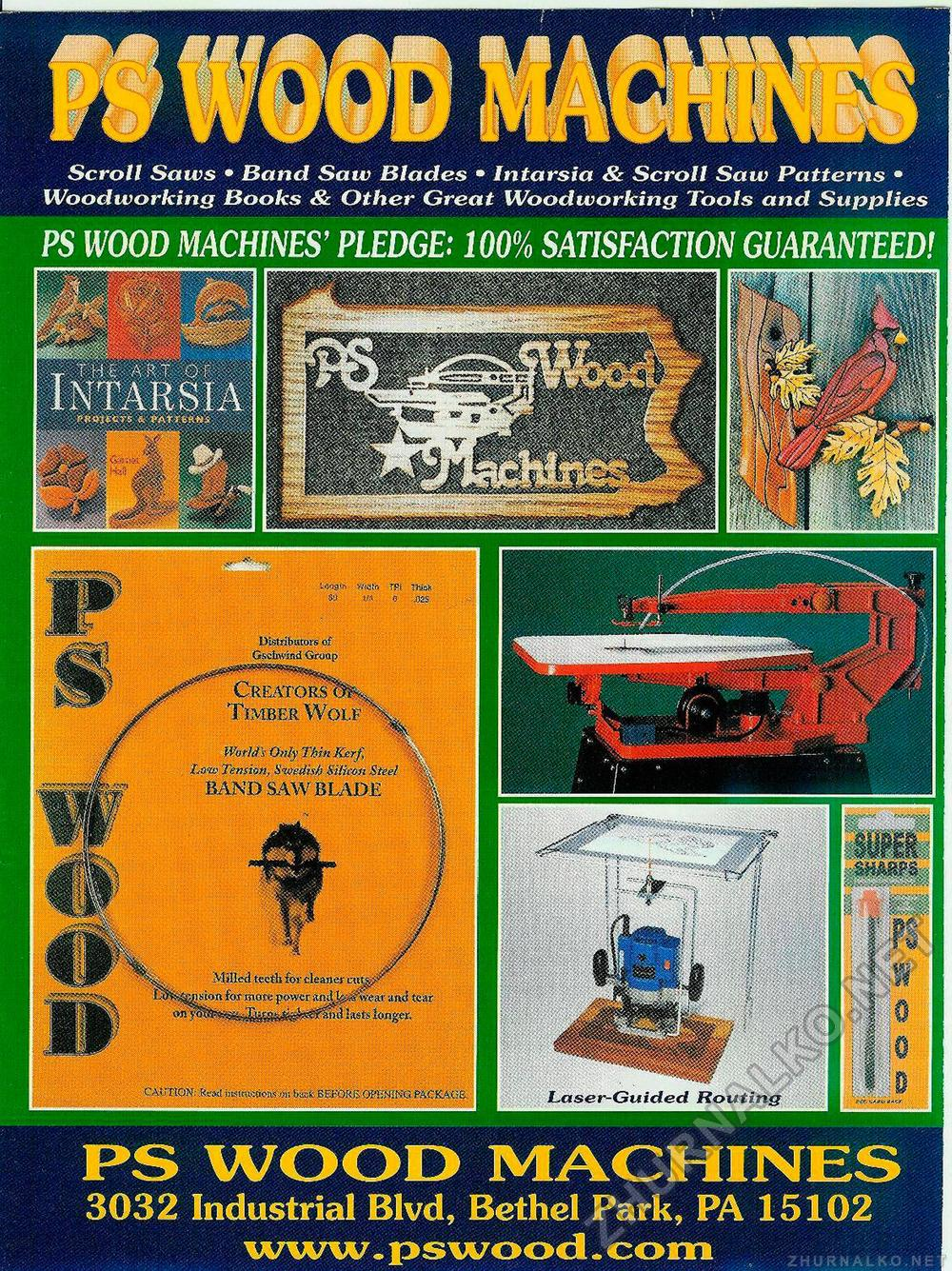 Creative Woodworks & crafts 2001-11, страница 68