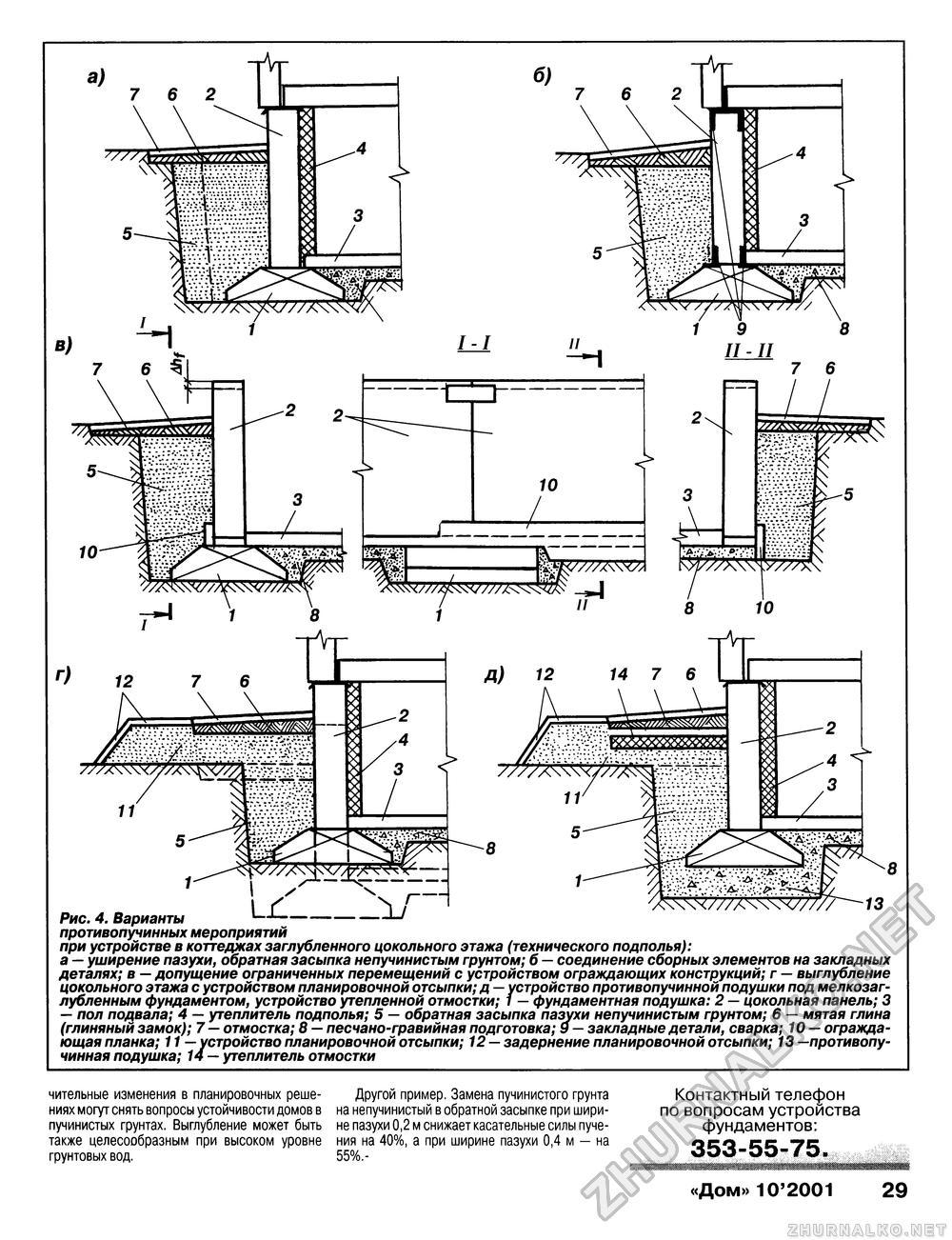 Как сделать фундамент.если грунтовые воды высоко 916