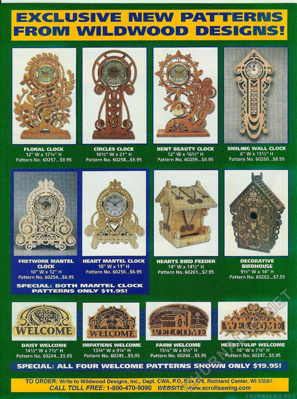 Creative Woodworks & crafts 2002-06, страница 9