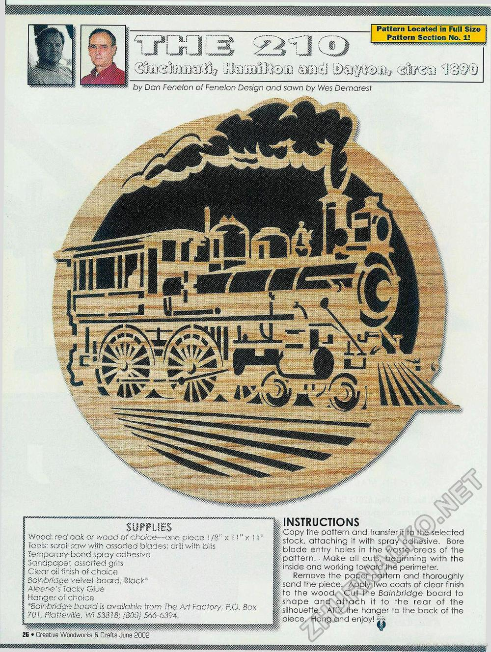 Creative Woodworks & crafts 2002-06, страница 26