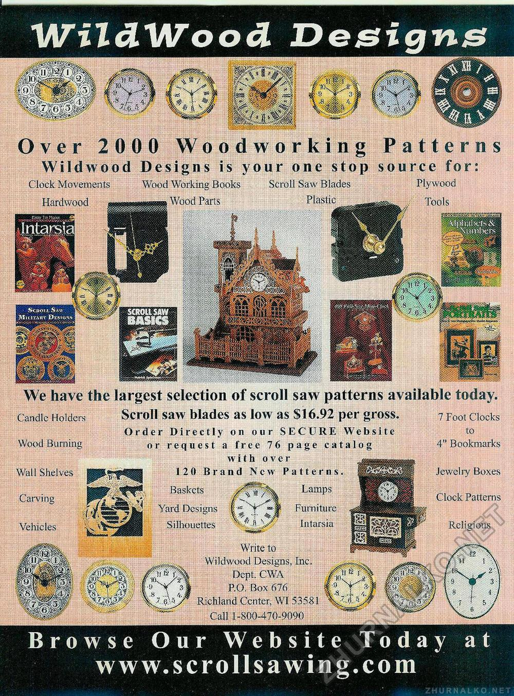 Creative Woodworks & crafts 2002-06, страница 27