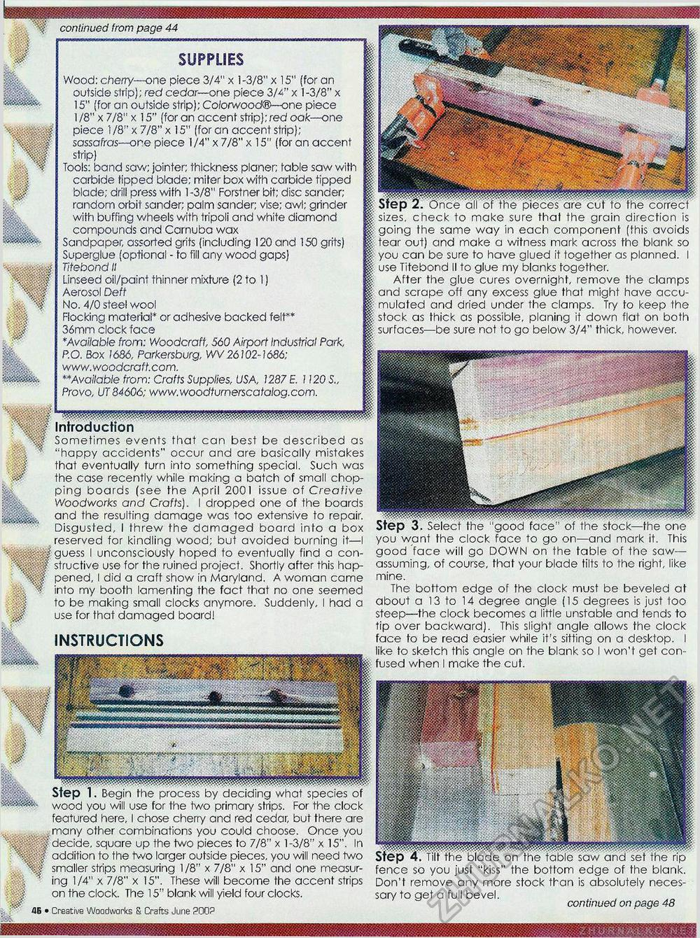 Creative Woodworks & crafts 2002-06, страница 46
