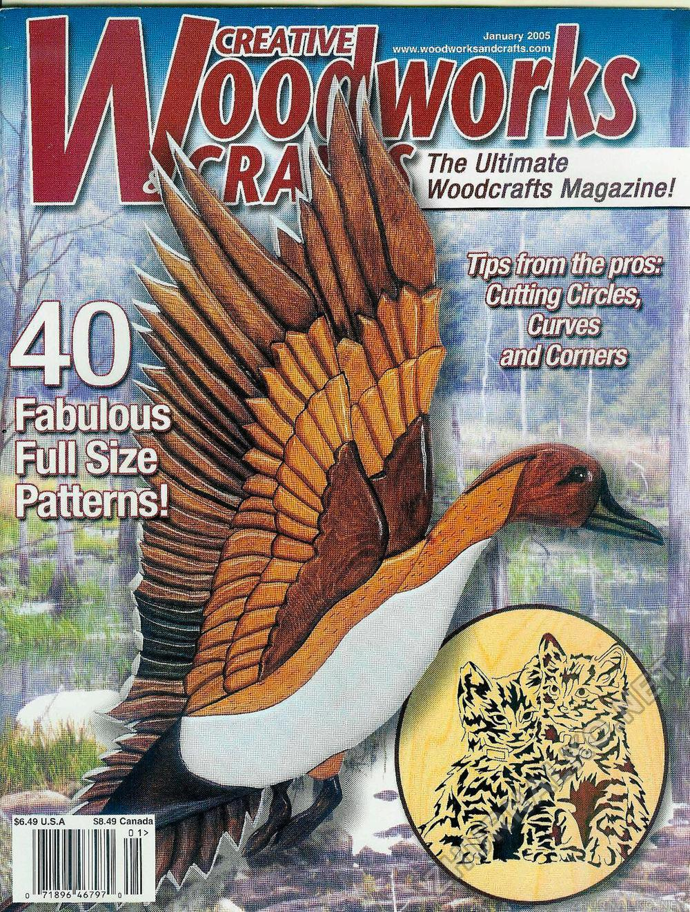 Creative Woodworks & crafts 2005-01, страница 1