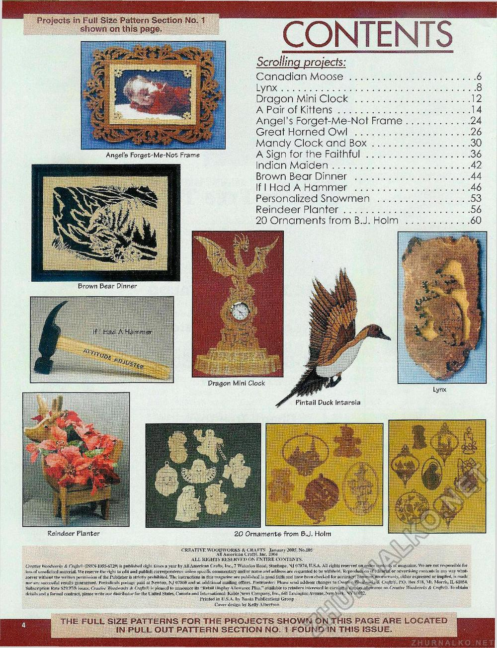Creative Woodworks & crafts 2005-01, страница 4