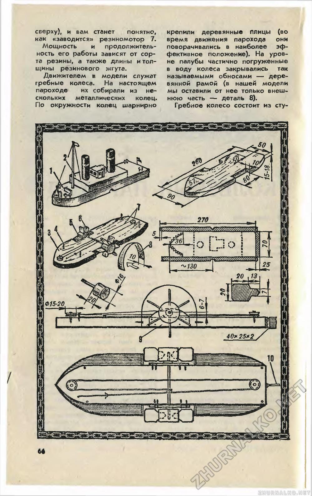 Как сделать корабль на колесах 585