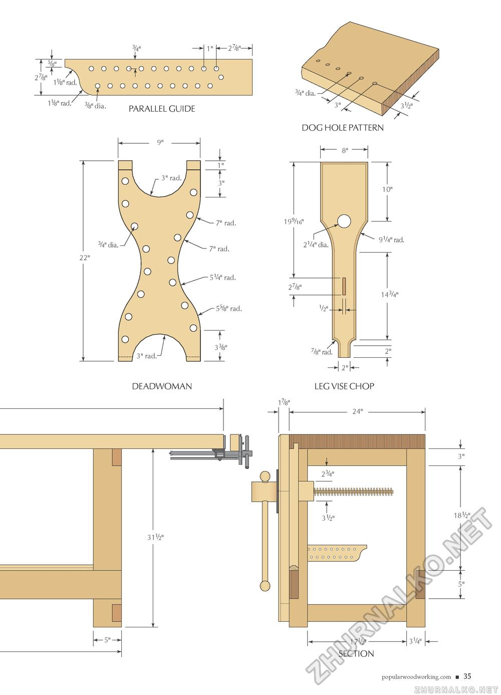 Popular Woodworking 2009-11 № 179, страница 25