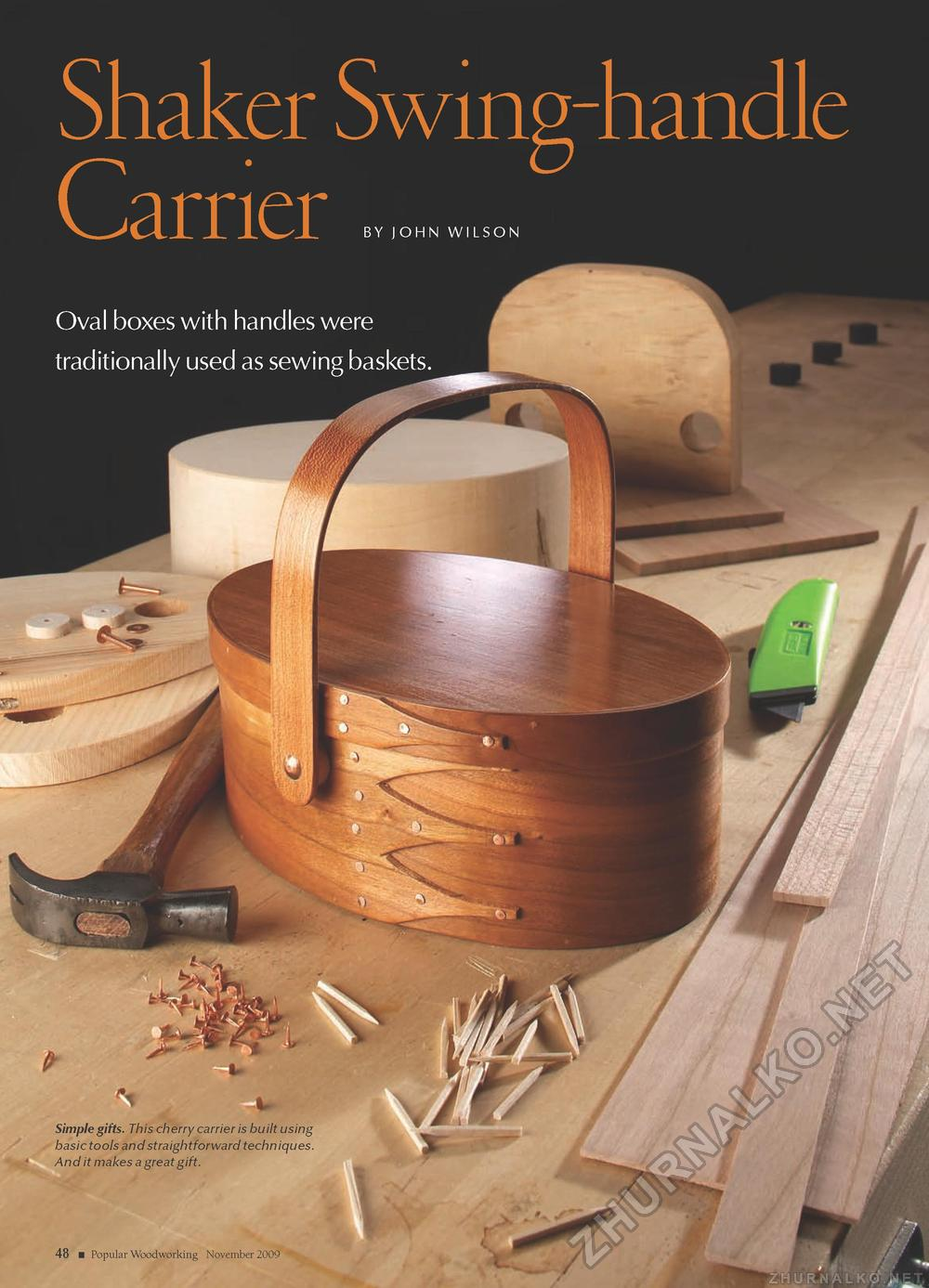 Popular Woodworking 2009-11 № 179, страница 38
