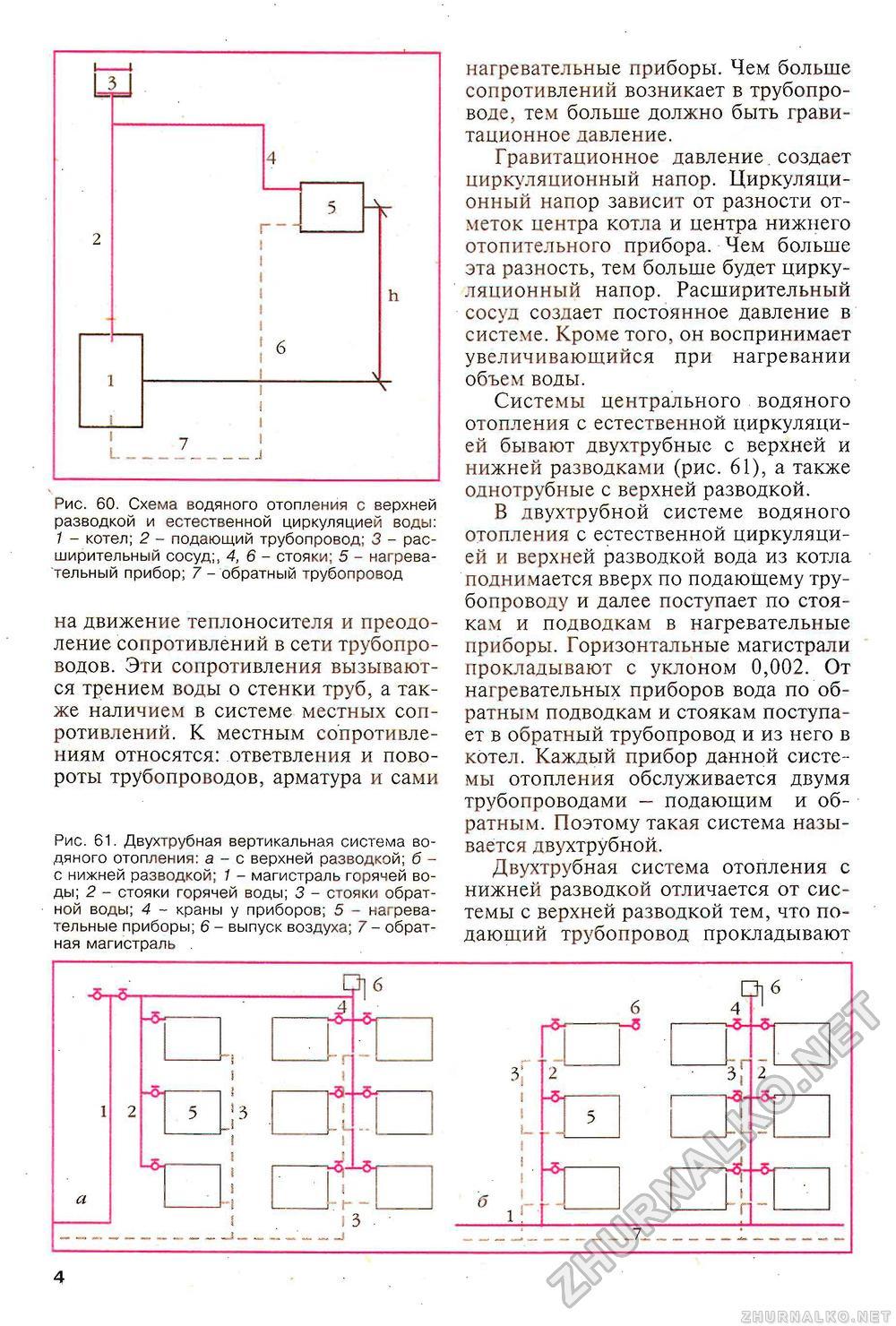 Однотрубная система отопления частного двухэтажного 40