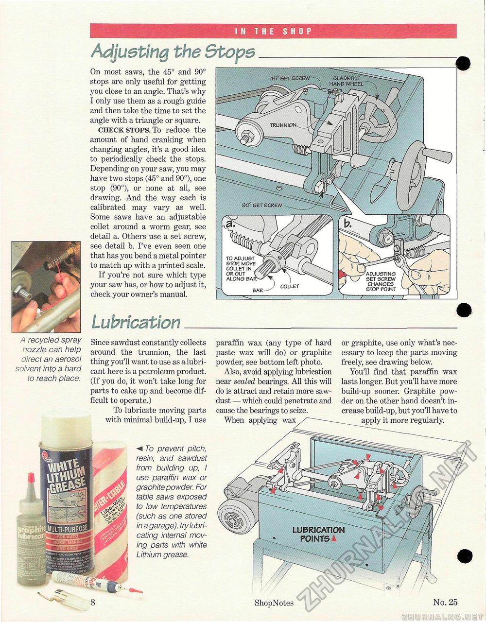 25 - Special Table Saw Issue, страница 8
