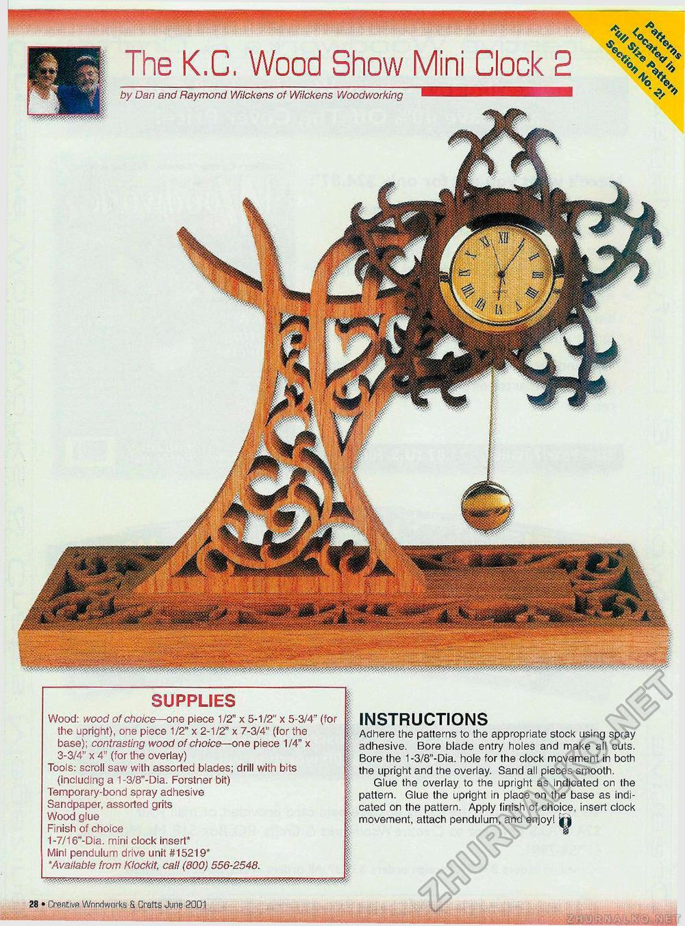 Creative Woodworks & crafts 2001-06, страница 28
