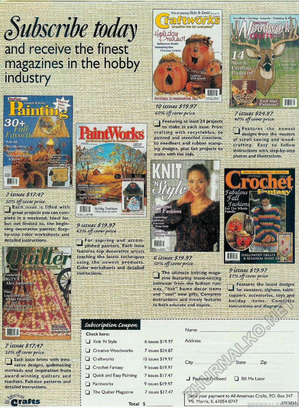 Creative Woodworks & crafts 2001-06, страница 43