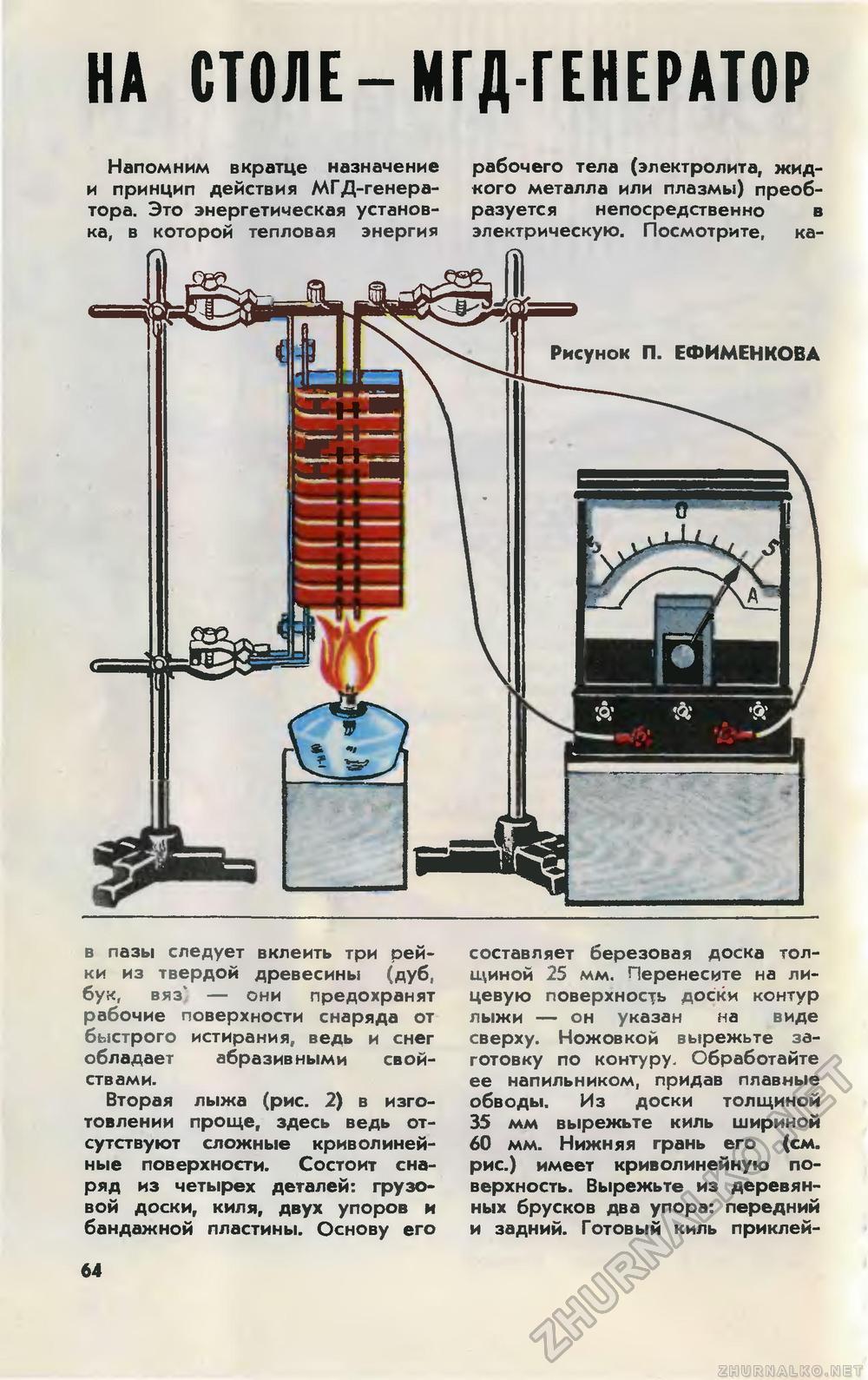 Магнитогидродинамический двигатель своими руками дома