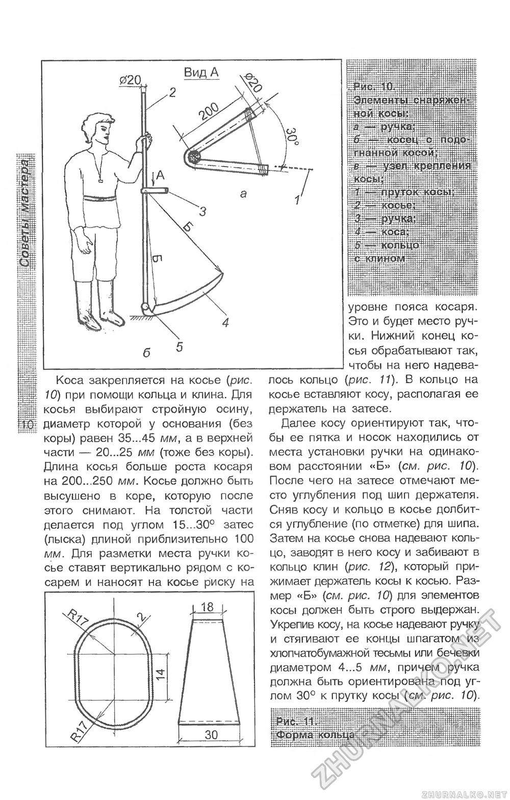 Как сделать косовище для косы своими руками фото 39