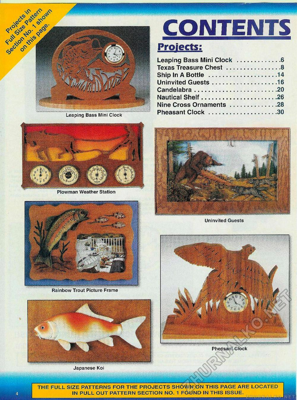 Creative Woodworks & crafts 2000-11, страница 4