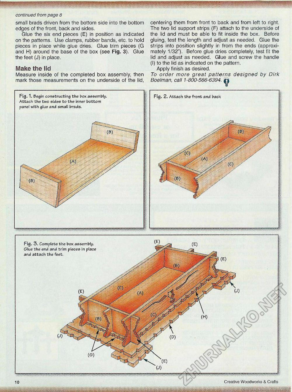 Creative Woodworks & crafts 2000-11, страница 10