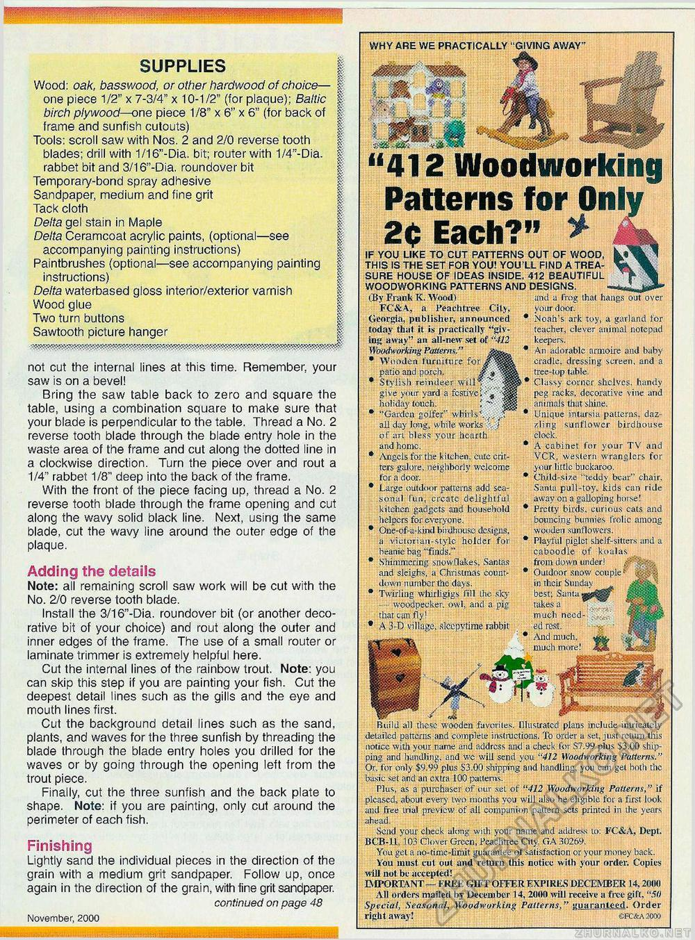 Creative Woodworks & crafts 2000-11, страница 47
