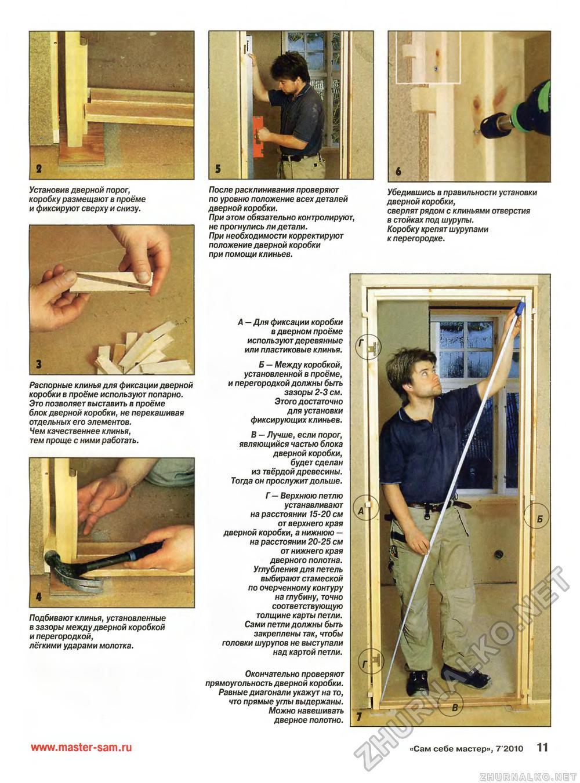 """Как сделать дверь """"на коленке"""" - Стройка 65"""