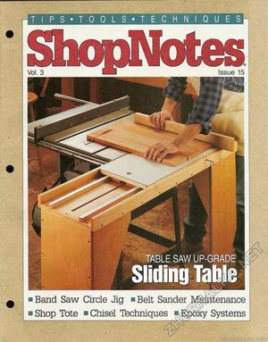 15 - Sliding Table