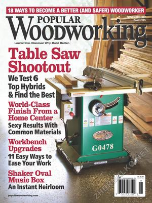 Popular Woodworking 2007-11 № 165