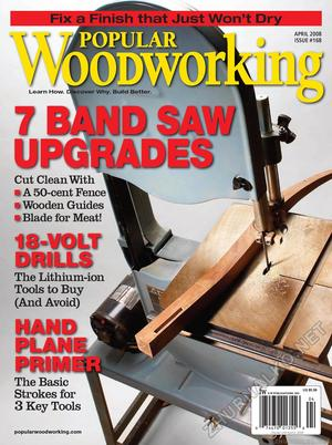 Popular Woodworking 2008-04 № 168