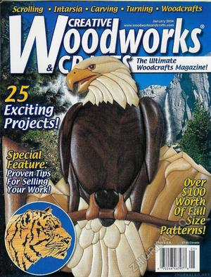 Creative Woodworks & crafts 2004-01