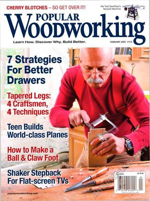 Popular Woodworking 2009-02 № 174