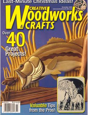 Creative Woodworks & crafts 2005-11