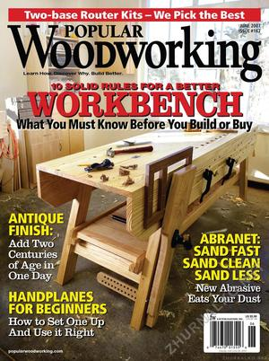 Popular Woodworking 2007-06 № 162