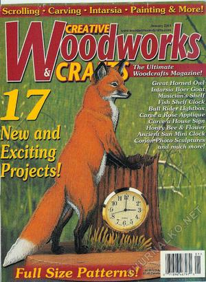 Creative Woodworks & crafts 2001-01