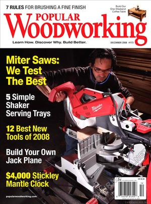 Popular Woodworking 2008-12 № 173