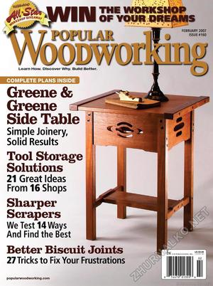Popular Woodworking 2007-02 № 160