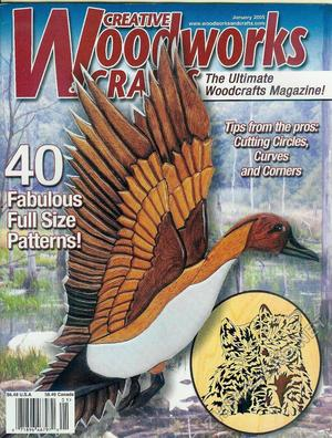 Creative Woodworks & crafts 2005-01