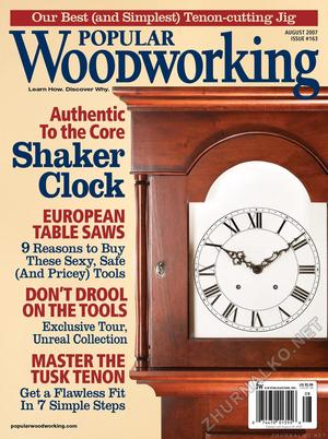 Popular Woodworking 2007-08 № 163