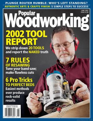 Popular Woodworking 2002-06 № 128
