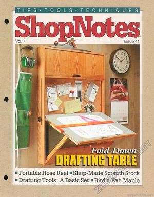 41 - Fold-Down Drafting Table